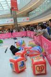 2015 Χονγκ Κονγκ ΕΝΑΝΤΙΟΝ του γεγονότος παιχνιδιών Bomberman Στοκ Φωτογραφία