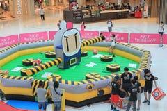 2015 Χονγκ Κονγκ ΕΝΑΝΤΙΟΝ του γεγονότος παιχνιδιών Bomberman Στοκ φωτογραφίες με δικαίωμα ελεύθερης χρήσης