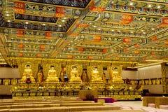Χονγκ Κονγκ, Κίνα, το εσωτερικό του Po Lin μοναστηριού στο νησί Lantau Στοκ Εικόνες