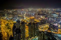 Χονγκ Κονγκ, Κίνα - 10 Φεβρουαρίου 2017: Αυτό είναι πραγματικά ένα συνδυασμένο bui Στοκ Φωτογραφία