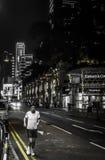 ΧΟΝΓΚ ΚΟΝΓΚ, ΚΙΝΑΣ - 17 ΙΑΝΟΥΑΡΙΟΥ: Νυχτερινή ζωή Χονγκ Κονγκ Οι ενάρξεις νυχτερινής ζωής από 10 ΠΡΩΘΥΠΟΥΡΓΟΣ, προσφέρουν ποικίλο Στοκ φωτογραφία με δικαίωμα ελεύθερης χρήσης