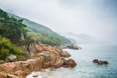 Χονγκ Κονγκ, νησί Lamma Στοκ Εικόνες