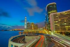 Χονγκ Κονγκ πόλεων Στοκ φωτογραφίες με δικαίωμα ελεύθερης χρήσης