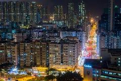 Χονγκ Κονγκ πόλεων Στοκ Φωτογραφία