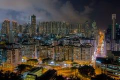 Χονγκ Κονγκ πόλεων στοκ εικόνες