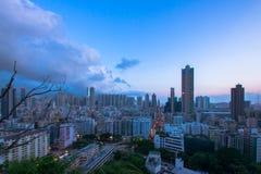 Χονγκ Κονγκ πόλεων στοκ εικόνα με δικαίωμα ελεύθερης χρήσης
