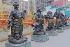 Χονγκ Κονγκ Sik Yuen Wong Tai Sin Temple Sik Στοκ φωτογραφία με δικαίωμα ελεύθερης χρήσης