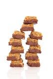 χοντρά κομμάτια σοκολάτα&si Στοκ εικόνες με δικαίωμα ελεύθερης χρήσης