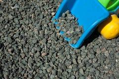 Χονδροειδές αμμοχάλικο - πέτρινη σύσταση Στοκ φωτογραφία με δικαίωμα ελεύθερης χρήσης