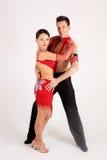χορευτές αιθουσών χορ&omicron Στοκ Φωτογραφία