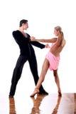 χορευτές αιθουσών χορ&omicron Στοκ φωτογραφίες με δικαίωμα ελεύθερης χρήσης
