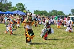 Χορευτές αμερικανών ιθαγενών Στοκ Φωτογραφία