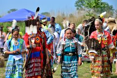 Χορευτές αμερικανών ιθαγενών Στοκ εικόνες με δικαίωμα ελεύθερης χρήσης