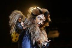 Χορευτές και δράστες Dominik Hees Στοκ Εικόνες