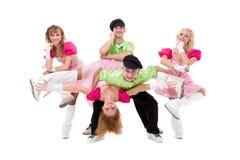 χορευτές λαϊκός Ουκρανό&si Στοκ εικόνες με δικαίωμα ελεύθερης χρήσης