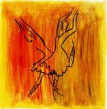 Χορευτές μπαλέτου Διανυσματική απεικόνιση