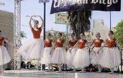 Χορευτές μπαλέτου, ArtWalk, Σαν Ντιέγκο Στοκ Εικόνες