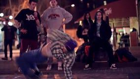 Χορευτές οδών απόθεμα βίντεο