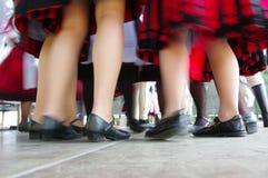 Χορευτές στην κίνηση 4 Στοκ εικόνες με δικαίωμα ελεύθερης χρήσης