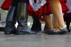 Χορευτές στην κίνηση 5 Στοκ Εικόνα