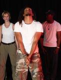 Χορευτές στη σκηνή Στοκ εικόνες με δικαίωμα ελεύθερης χρήσης