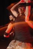 Χορευτές στη σκηνή Στοκ Φωτογραφία