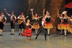 Χορευτές στο μπαλέτο Στοκ εικόνες με δικαίωμα ελεύθερης χρήσης