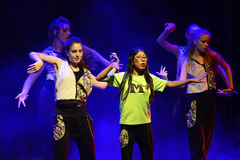 Χορευτές χιπ χοπ στοκ εικόνες