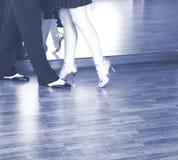Χορευτές χορού αιθουσών χορού Στοκ Φωτογραφία