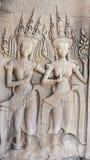 Χορευτές Apsara Στοκ εικόνα με δικαίωμα ελεύθερης χρήσης