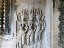 Χορευτές Apsara Στοκ Φωτογραφίες