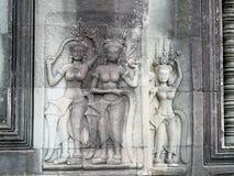 Χορευτές Apsara Στοκ φωτογραφία με δικαίωμα ελεύθερης χρήσης