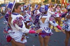Χορευτές Caporales στο Arica καρναβάλι, Χιλή Στοκ φωτογραφίες με δικαίωμα ελεύθερης χρήσης