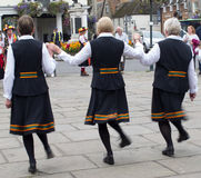 Χορευτές Morris στοκ φωτογραφία