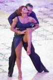 Χορευτές Pavel Pachechnik/Francesca Berardi Στοκ φωτογραφία με δικαίωμα ελεύθερης χρήσης