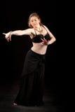 χορευτής Ασιάτης κοιλιώ& Στοκ Εικόνα