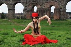 χορευτής Ασιάτης Στοκ εικόνα με δικαίωμα ελεύθερης χρήσης