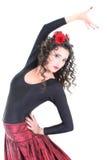 χορευτής ισπανικά στοκ φωτογραφία