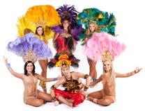 Χορευτής καρναβαλιού Στοκ εικόνα με δικαίωμα ελεύθερης χρήσης