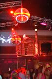 χορευτής κλουβιών Στοκ εικόνες με δικαίωμα ελεύθερης χρήσης