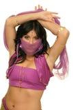 χορευτής κοιλιών μυστήρ&iota Στοκ φωτογραφία με δικαίωμα ελεύθερης χρήσης