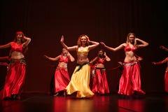 χορευτής κοιλιών Στοκ εικόνα με δικαίωμα ελεύθερης χρήσης