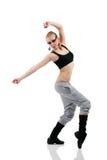 Χορευτής κοριτσιών εφήβων στοκ φωτογραφίες με δικαίωμα ελεύθερης χρήσης