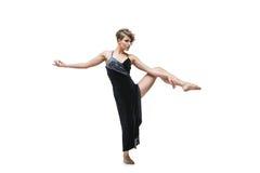 Χορευτής κοριτσιών στο φόρεμα τανγκό Στοκ Εικόνες