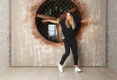 Χορευτής κοριτσιών χορού οδών Στοκ φωτογραφίες με δικαίωμα ελεύθερης χρήσης