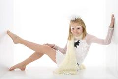 χορευτής λίγος χειμώνας στοκ φωτογραφίες