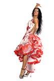 χορευτής Λατίνα Στοκ Εικόνες