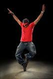 Χορευτής λυκίσκου ισχίων Στοκ εικόνα με δικαίωμα ελεύθερης χρήσης
