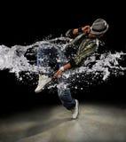Χορευτής λυκίσκου ισχίων Στοκ Φωτογραφίες
