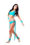 Χορευτής με το bodyart Στοκ Εικόνες